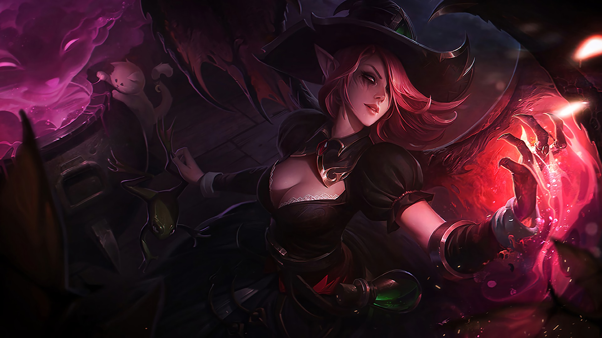 Bewitching Morgana Lolwallpapers